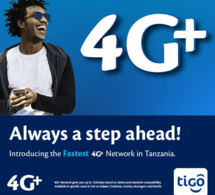 Tigo lance la 4G+ en Tanzanie