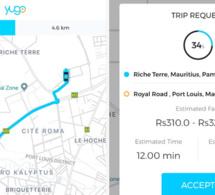 Ile Maurice: Une nouvelle application de taxi à la demande baptisée Yugo