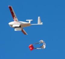 Zipline - Le service de livraison par drones a levé 190 millions $ supplémentaires