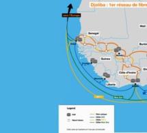 Orange lance « Djoliba », le 1er réseau de fibres optiques pana-africain