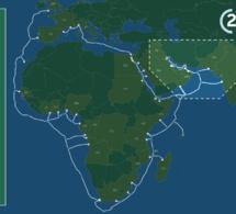 2Africa devient le plus long système de câbles sous-marins au monde