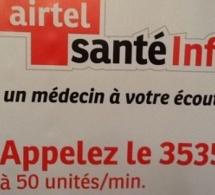 """Congo-Kinshasa: lancement de """"Airtel Santé Info"""" pour le bien-être des abonnés"""