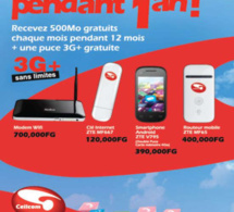 Guinée: Cellcom propose le nouveau smartphone Android à 390,000FG