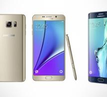 Samsung confirme l'arrivée des Galaxy S6 edge+ et Note 5 en Afrique du Sud
